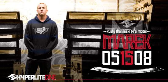 Hyperlite Marek Wakeboard - Rusty Malinoski